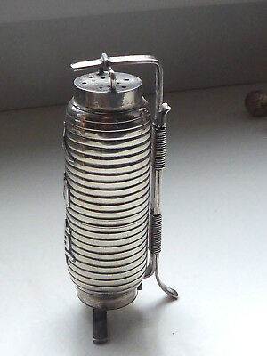 China export solid silver salt shaker In the form Tonne