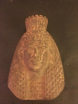 Rare Ancient Egyptian Queen Cleopatra Bust (m. 36 BC-30 BC)