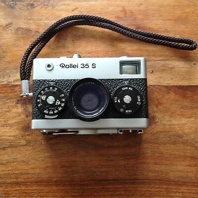 Rollei 35 S 35mm Film Camera Sonnar 40mm F/2.8 Lens, Fully Serviced, Cleaned