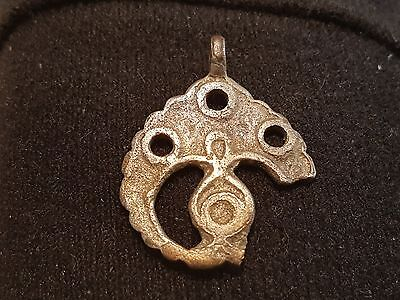 Beautiful very rare Viking pendant solid silver wearable found in England L24e