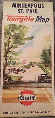 VINTAGE 1967 GULF GAS STATION ~ Minneapolis St Paul~ GREAT CONDITION!