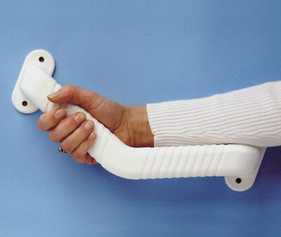 Ashby Angled Grab Bar with Non-Slip Grip