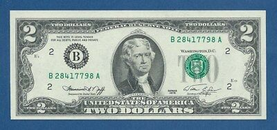 UNITED STATES OF AMERICA -- 2 DOLLARS ( 1976 ) -- SC- // aUNC -- B -- PICK 461 .