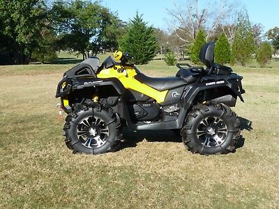 2015 Can Am Outlander 1000 MR YELLOW