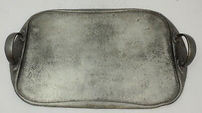 large early liberty & co tudric pewter tea tray  archibald knox 043