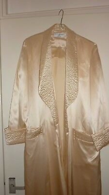 VINTAGE BRUCE OLDFIELD DRESSING GOWN 100/o/o SILK SIZE 10