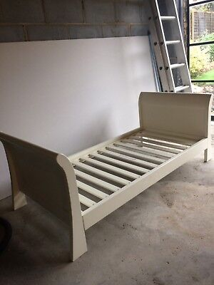 mamas and papas grace junior sleigh bed