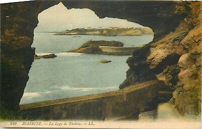 64 Biarritz Rocher Vue Vers Le Phare Ll