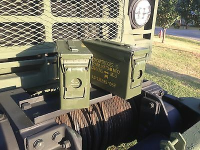 2 Pack 30 .30 Cal M19A1 AMMO CANS BOXES CASES  Good condition