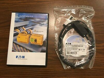 EATON MOELLER easySoft-Safety Software ESP-SOFT and USB Cable EASY800-USB-CAB