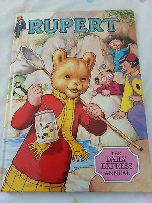 Rupert Annual 1986  The Daily Express Annual