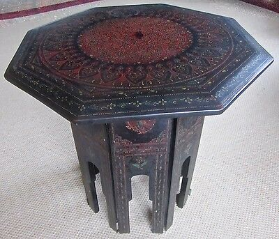 Burmese Lacquered Occasional Table