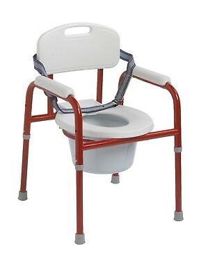 Drive PC 1000 R Pinniped Pediatric Commode, Red