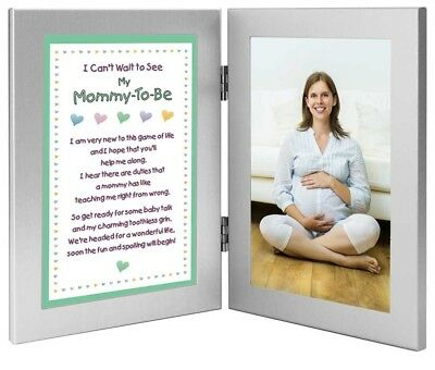 Mother To Be Gift From the Baby - Sweet Mommy Poem - Add Photo of Mom-To-Be or U