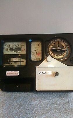 COIN OPERATED ELECTRICITY METER £1 coin