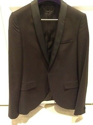 Shawl collar tuxedo jacket with trousers