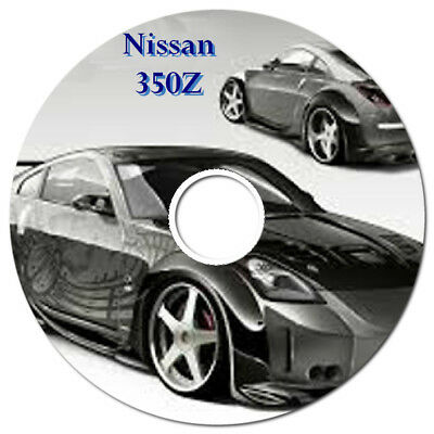 Nissan 350Z 350 Z 2003-2009 Factory Workshop Service Repair Manual On Cd