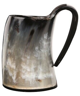 Small Horn Viking Drinking Mug Cup Wine Ale Beer Goblet Tankard Mead Medieval