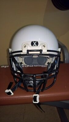 Football Helm Xenith Weiß gr L