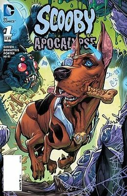 Scooby Apocalypse #1. Scooby Variant. NEW. DC Comics. Bagged & Boarded.