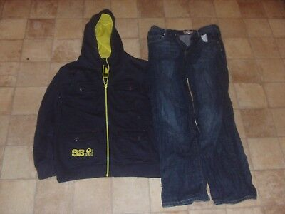 Boys Age 13-14 Years Job Lot Clothes Bundle M&s Next Slazenger Tops Jeans