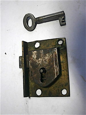 Longcase Grandfather Clock  Lock And Key   C1750