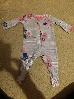 Joules Baby Girl Sleepsuit 3-6 months