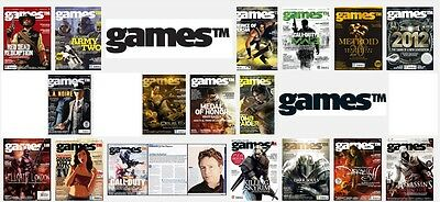 GamesTM MAGAZINES Collection - up to ISSUE 131 - CHOOSE ONE
