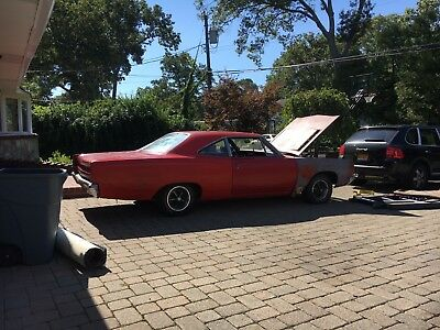 1969 Plymouth Road Runner  1969 Plymouth Road Runner Numbers Matching Plus  Extra 1969 440 HP Engine