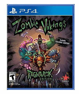 Zombie Vikings - PlayStation 4! BRAND F/S F