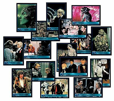 Doctor Who - A Complete Strictly Ink 2001 2Nd Series Trade Card Set