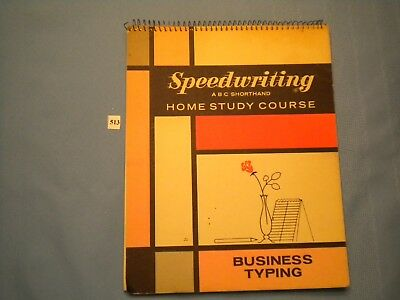 Vintage Speedwriting ABC Shorthand Book (513)