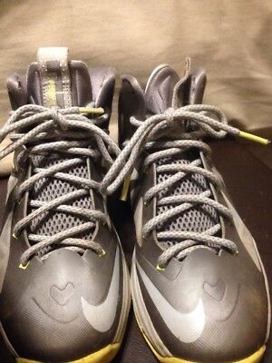 Boys Size 4.5 Nike Lebron 10 Sneakers Shoes High Tops Basketball