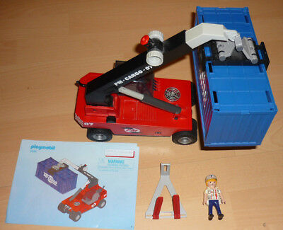 Playmobil 5256 Containerstapler Stapler Cargo - City Action - Vollständig
