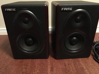 "Fame 5050AM 5"" Aktive Studiomonitore, ein Paar, Top!"