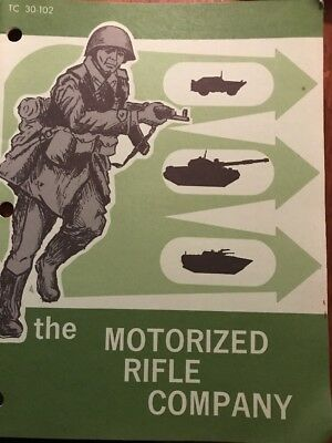THE MOTORIZED RIFLE COMPANY - booklet