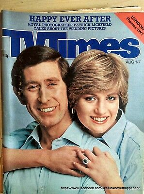 TV Times 1980/1981/1983/1984 (121 Copies)