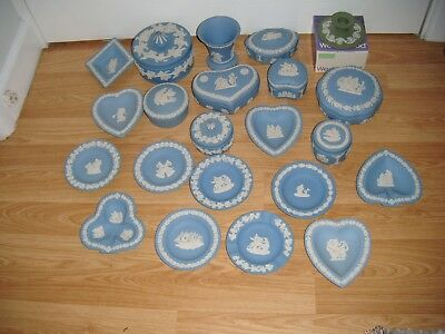 WEDGWOOD JASPER WARE ~ JOB LOT OF 22 PIECES ~ 1st QUALITY ~ EXCELLENT