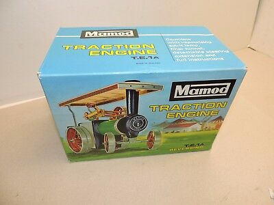 Mamod Traction Engine T.E.1A Never Used Absolutely Mint Condition Boxed
