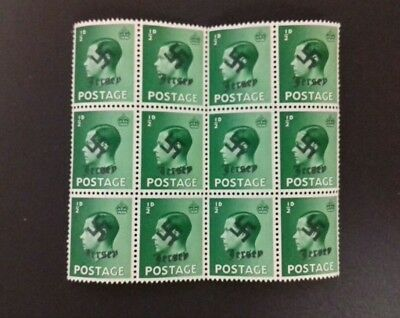 Jersey 1940 Occupation Cancellation stamp blocks (AC495) ONO.