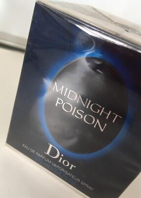 MIDNIGHT POISON DIOR 100ml con caja precintada With box. Very difficult to find