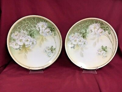 Pr. Antique Art Nouveau R.S. Germany Plates & PR. ANTIQUE ART Nouveau R.S. Germany Plates - £28.84 | PicClick UK