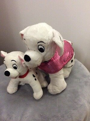"""Walt Disney 101 Dalmatians Soft Toy 11""""/ 7"""" From Nose To Tail"""