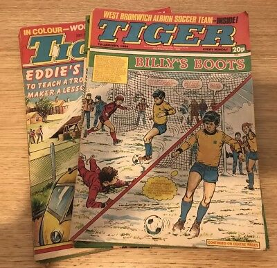 Tiger Magazines 8 Nr from 1983/84