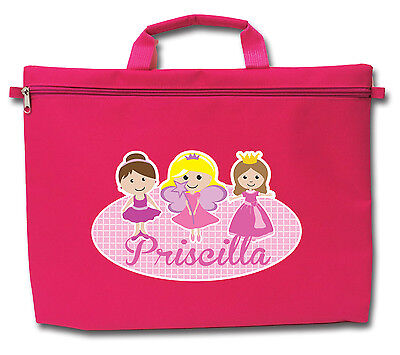 Personalised Kids School Library Bags