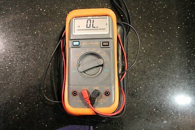BLUE-POINT TOOLS AUTO-RANGING DIGITAL MULTIMETER w/ LEADS EEDM504A