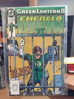 New DC comic book-Green Lantern Emerald Dawn II april 1991  (L-1)