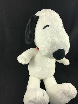 """BIG 22"""" Peanuts SNOOPY Plush Stuffed Animal EXCELLENT CONDITION"""