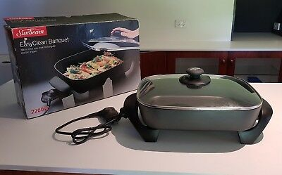 Sunbeam Electric Frypan