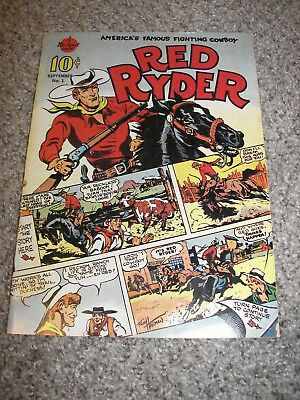 Red Ryder #1 Daisy BB Gun Golden Age Reprints Fred Harman 1989 comic book one